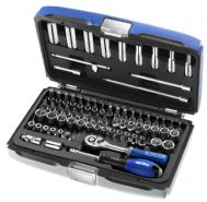 Britool Expert E030707B Socket Set 73 Piece A/F and Metric 1/4 in Drive